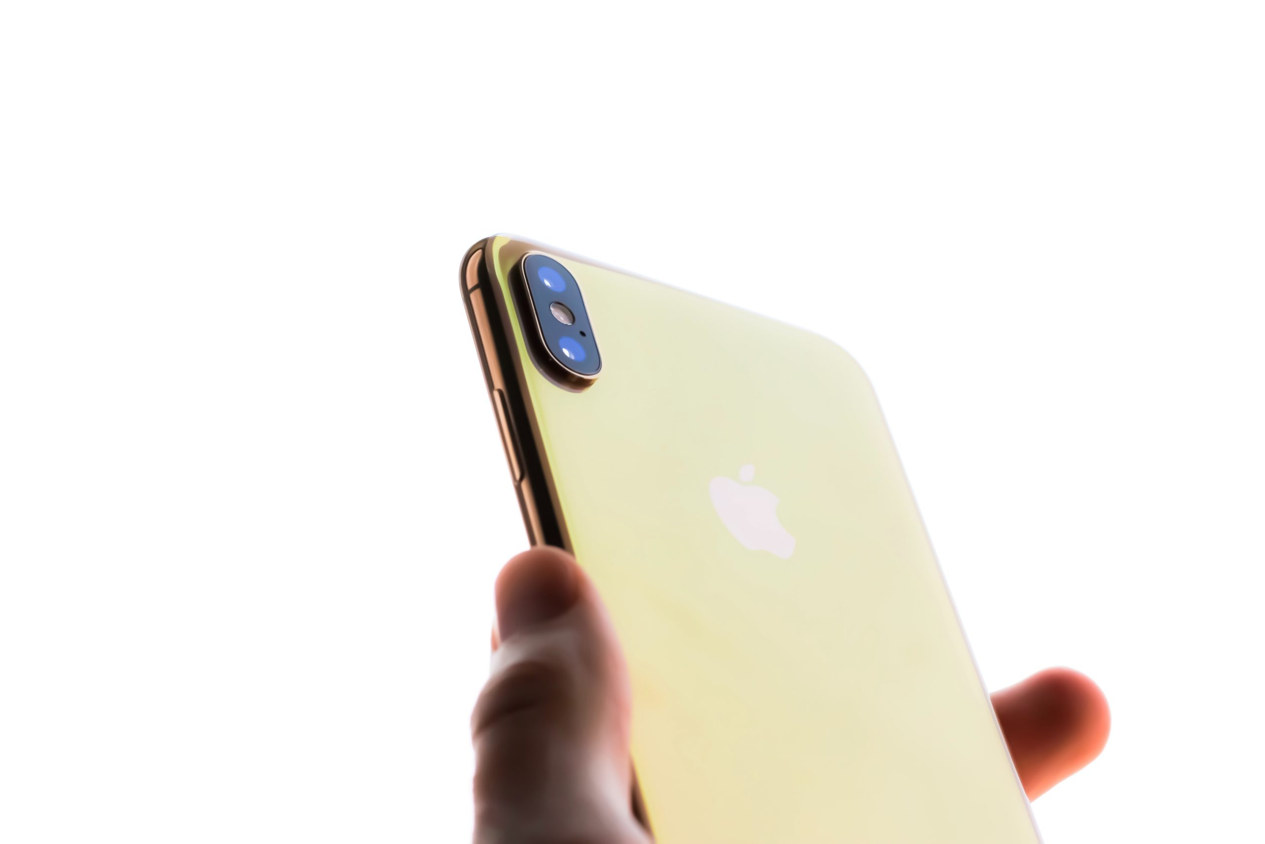 iPhone Xs di colore Oro Gold