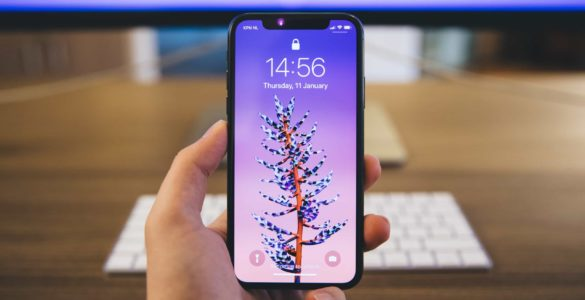 Display iPhone X acceso